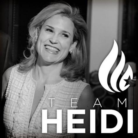 Heidi Cruz, a beautiful, intelligent, hard-working, successful woman