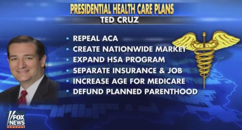 Ted Cruz's health care plan: choice and competition