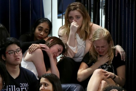 Women react to Clinton loss