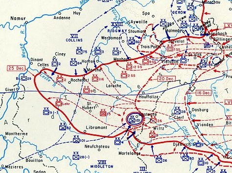 Major General Collins' plan to attack the 2nd SS Division near Celles