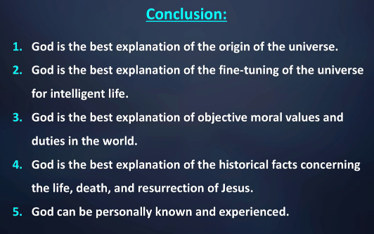william lane craig debates daniel came does god exist wintery  dr craig s opening speech summary slide