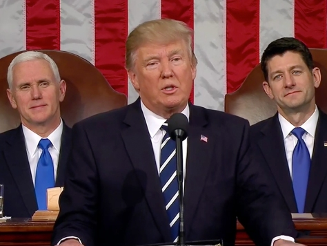 Trump's State of the Union pitted America against Democrats