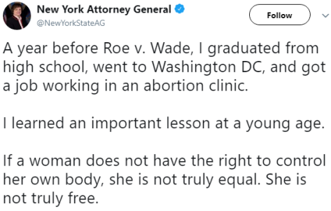 New York Attorney General Eric Schneiderman wants women to be free?