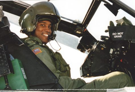 John James is an Apache helicopter pilot and business owner