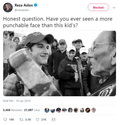 Anti-Christian CNN journalist calls for violence against child