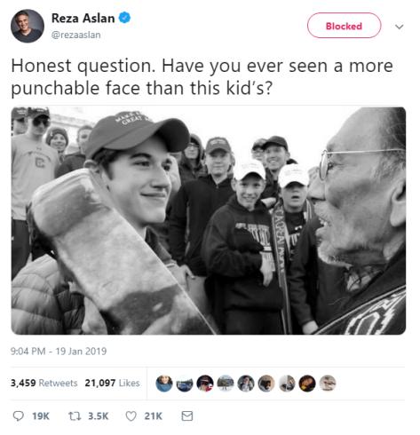 Anti-Christian CNN journalist calls for violence against child