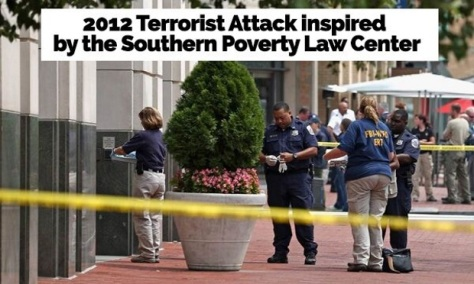 The Southern Poverty Law Center was connected to a 2012 domestic terrorism attack