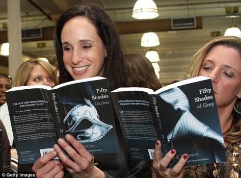 Fifty Shades of Grey was very popular with women