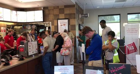 Chick-Fil-A manager asks customers to pray for sick employee