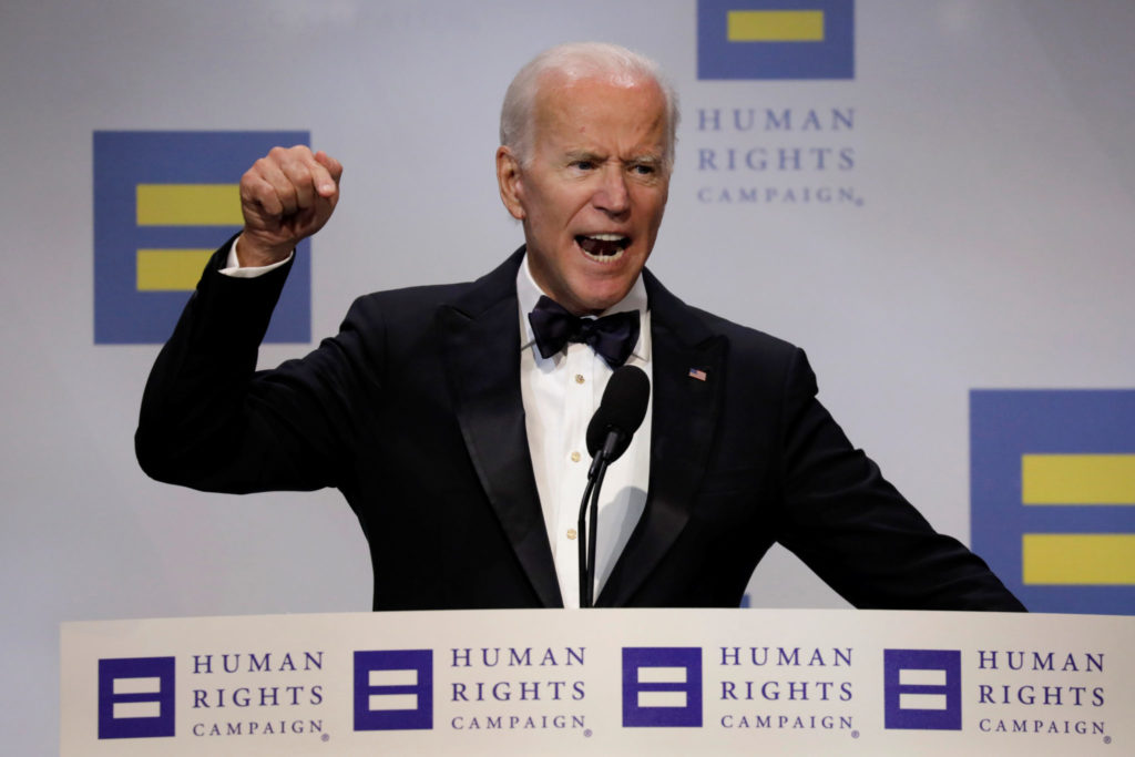 Enraged Joe Biden howls out his hatred for Bible-believing Christians