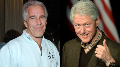 Jeffrey Epstein and Bill Clinton