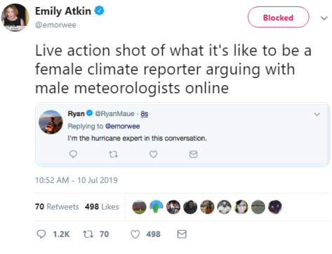 "Feminist journalist shames science expert as ""sexist"""