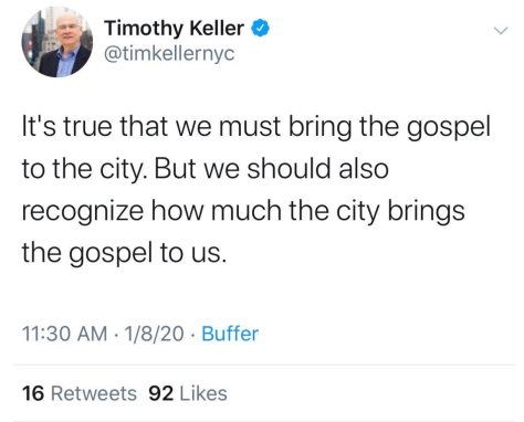 Can New York City can teach Christians about the gospel?
