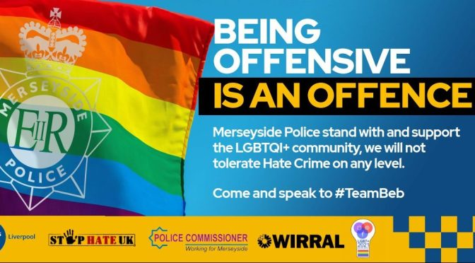 Merseyside Police Offensive Offence