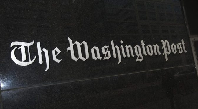 Washington Post Fake News
