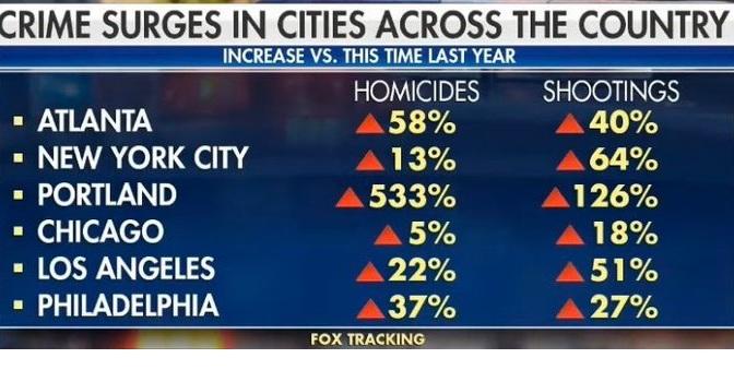 Crime in Democrat Cities